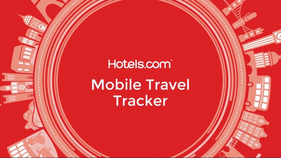 Hotels.com Mobile Travel Tracker Animations