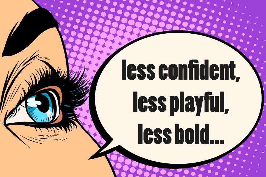 Make-Up : Confidence or Pressure?