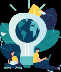 international-research-illustration