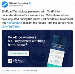 Twitter Silkroad Technology