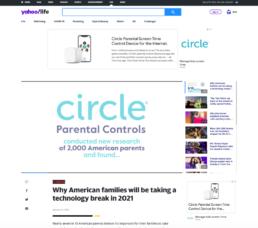 Circle Yahoo