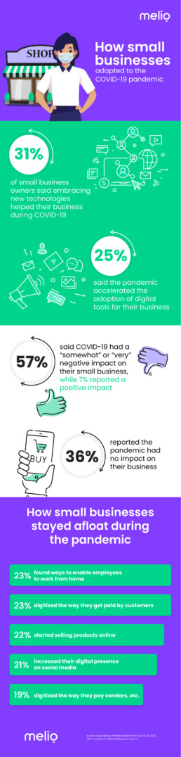 Melio small business infographic