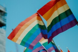 Pride flag 1 in 3 LGBT employees worry about workplace bullying