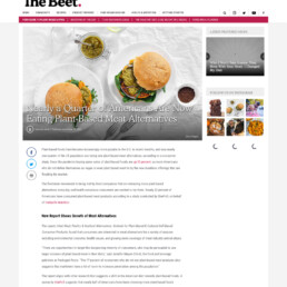 The Beet coverage of Herbalife Pandemic Diet Decisions research